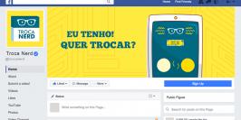 Facebook - APP Troca Nerd