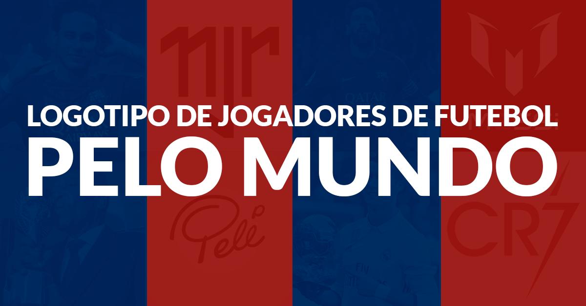 Logotipo Jogadores de Futebol