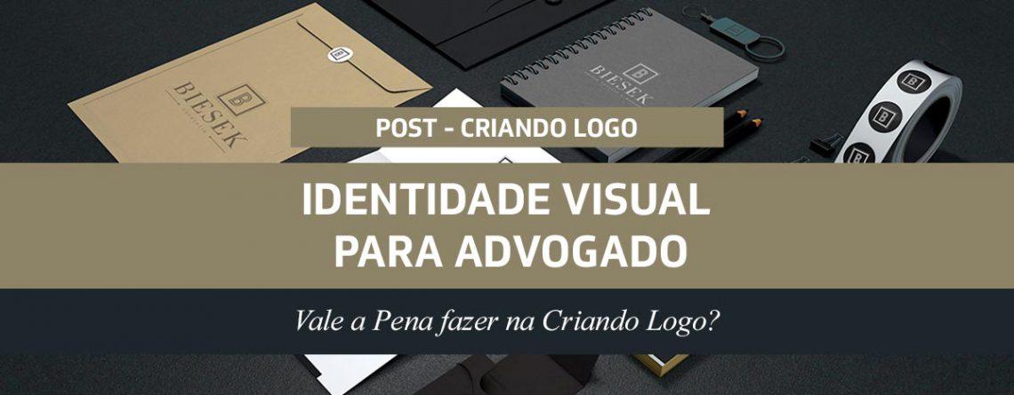 Identidade Visual para Advogado: Vale a Pena fazer na Criando Logo?